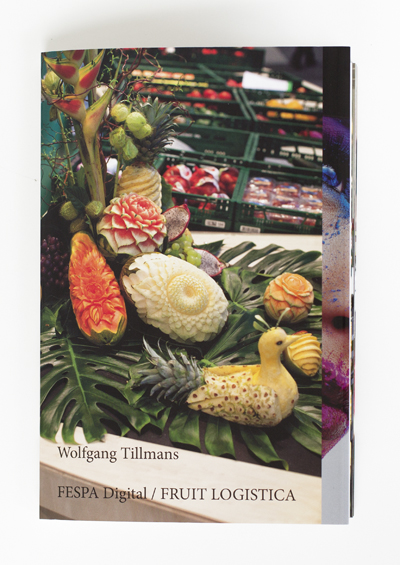 FESPA Digital / FRUIT LOGISTICA, 128 pages, artist book, available at Buchhandlung Walther König